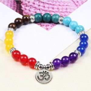 Reiki 7 Chakra Healing Bead Bracelet